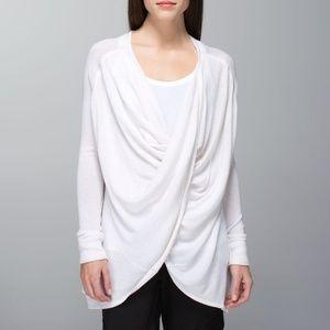 Lululemon Twist & Wrap Sweater